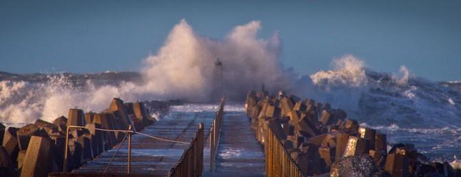 Brandung am Strand in Dänemark. Foto: Hinnerk Weiler