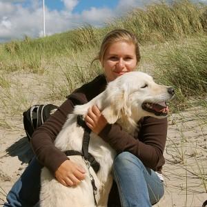 Aus der Begegnung auf Wikkegaard wuchs eine so innige Beziehung, dass Derko nun sein neues Zuhause bei Sandra gefunden hat